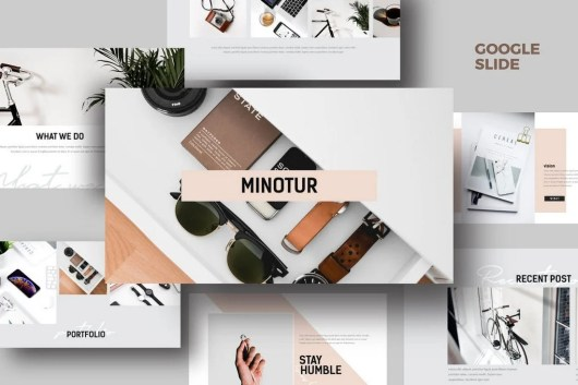 Minotur - Google Slides Template