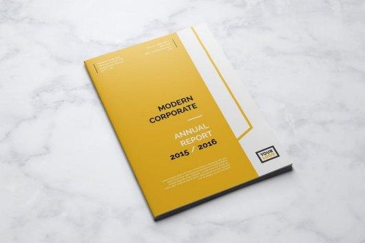 Modern Corporate Annual Report Template