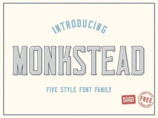 Monkstead Font Free