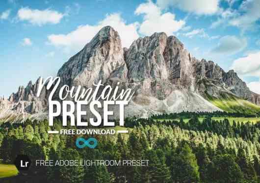 Mountain Free HDR Lightroom Preset