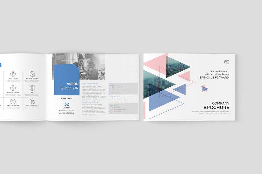 70+ Modern Corporate Brochure Templates 29