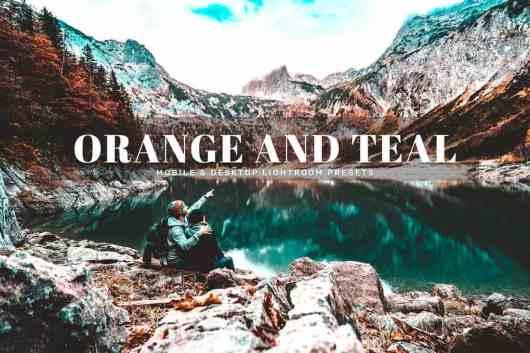 Orange And Teal HDR Lightroom Presets