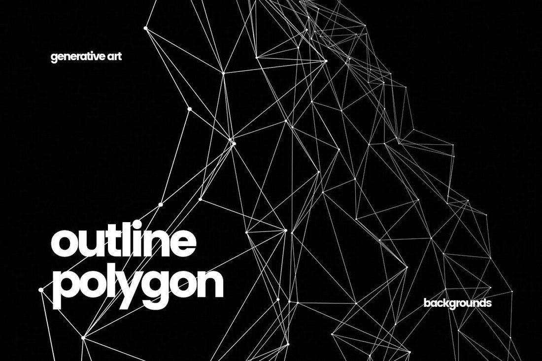 20+ Beautiful Geometric & Polygon Background Textures 49