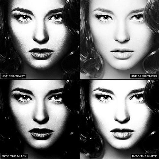 PRO Black & White Photographer Actions