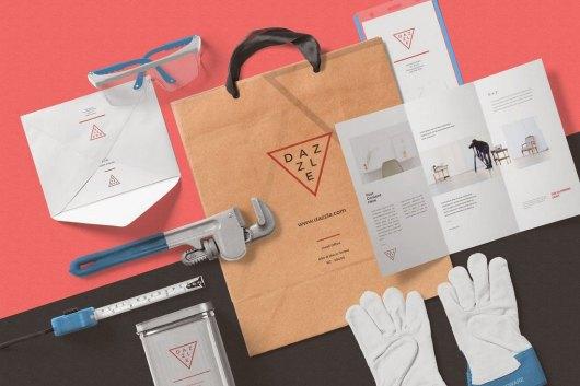 Paper Bag Mockup Scenes Generator