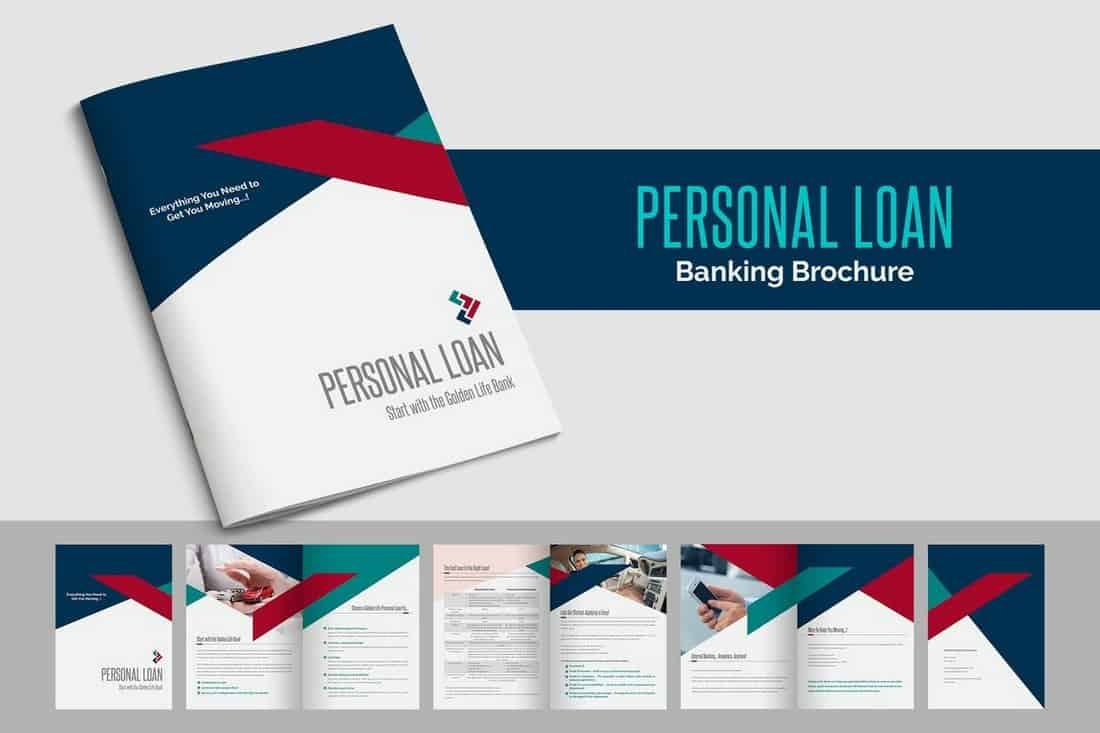 Personal Loan Brochure Template