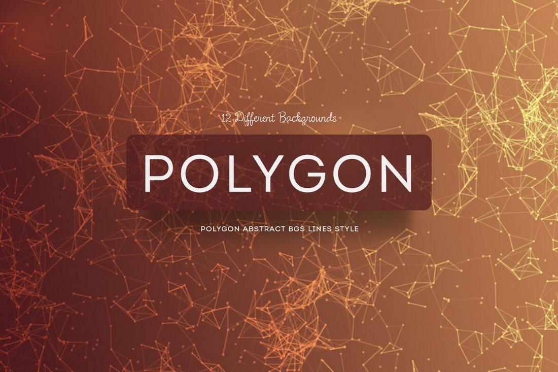 20+ Beautiful Geometric & Polygon Background Textures 72