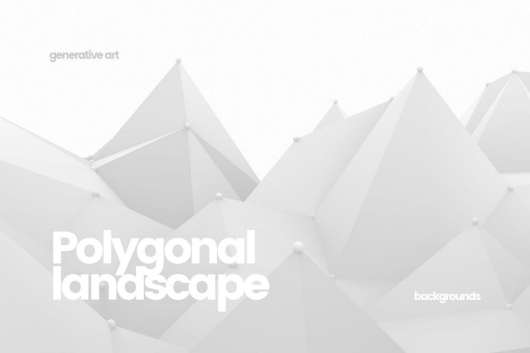 Polygonal Landscape Backgrounds
