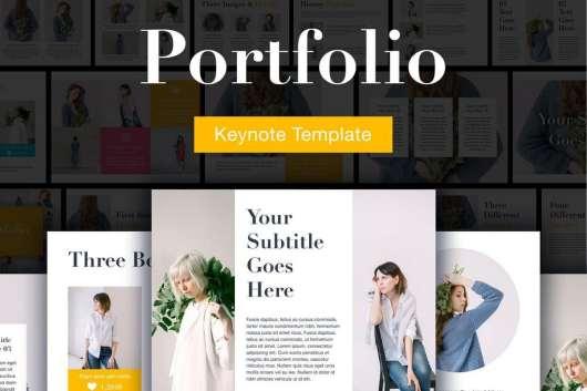 Portfolio Keynote Template