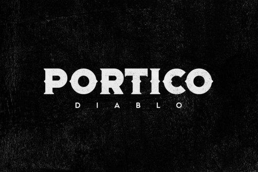 Portico Diablo Creative Gothic Font