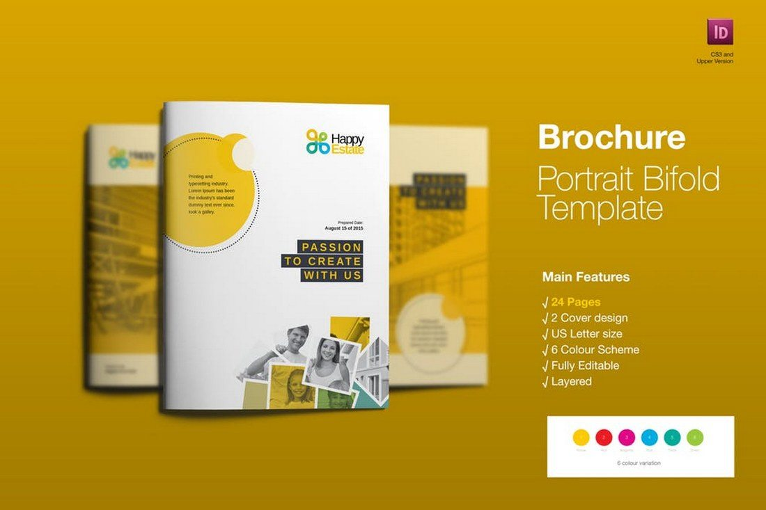 70+ Modern Corporate Brochure Templates 17