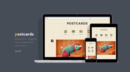 Postcards-Responsive-Blogging-Theme