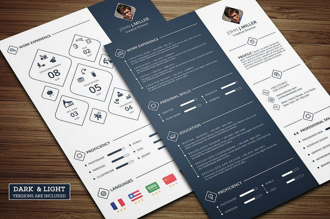 The Best CV & Resume Templates: 50 Examples 20