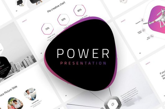 Power - Dynamic Animated PowerPoint Template