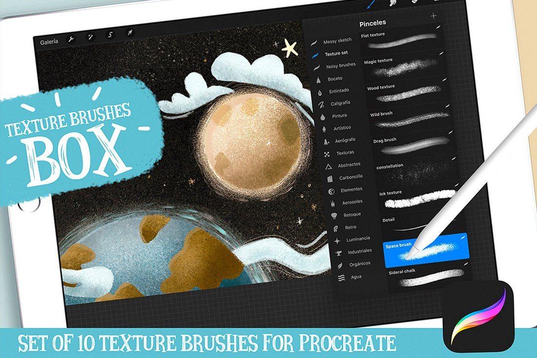 30+ Best Procreate Brushes 45