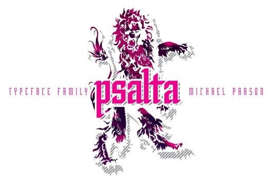 Psalta - Tattoo Font