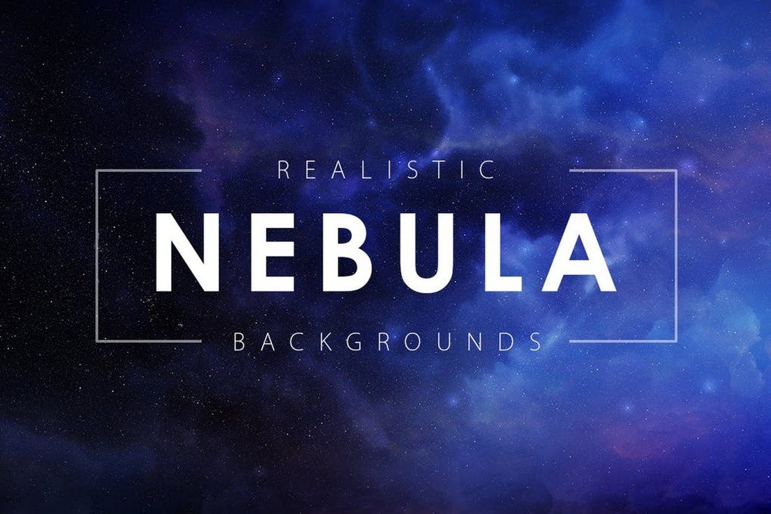 20+ Best Space & Nebula Background Textures 24