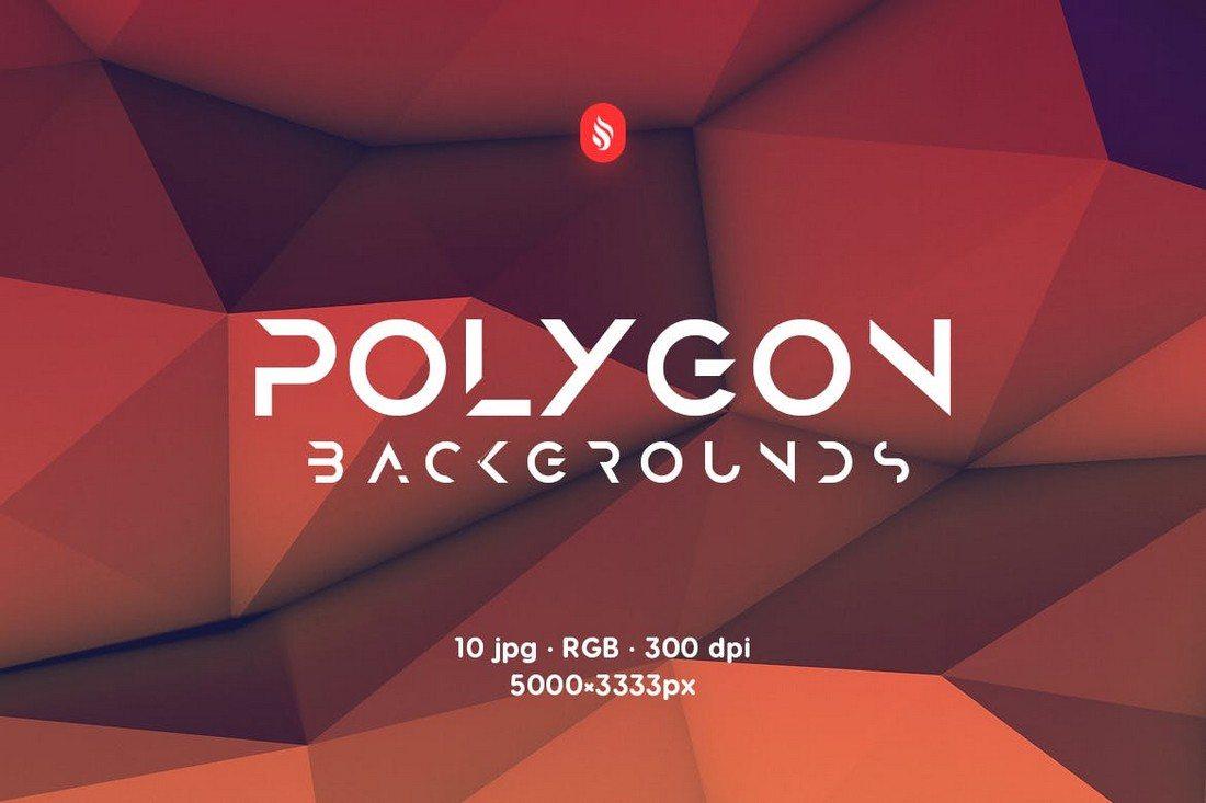 20+ Beautiful Geometric & Polygon Background Textures 45
