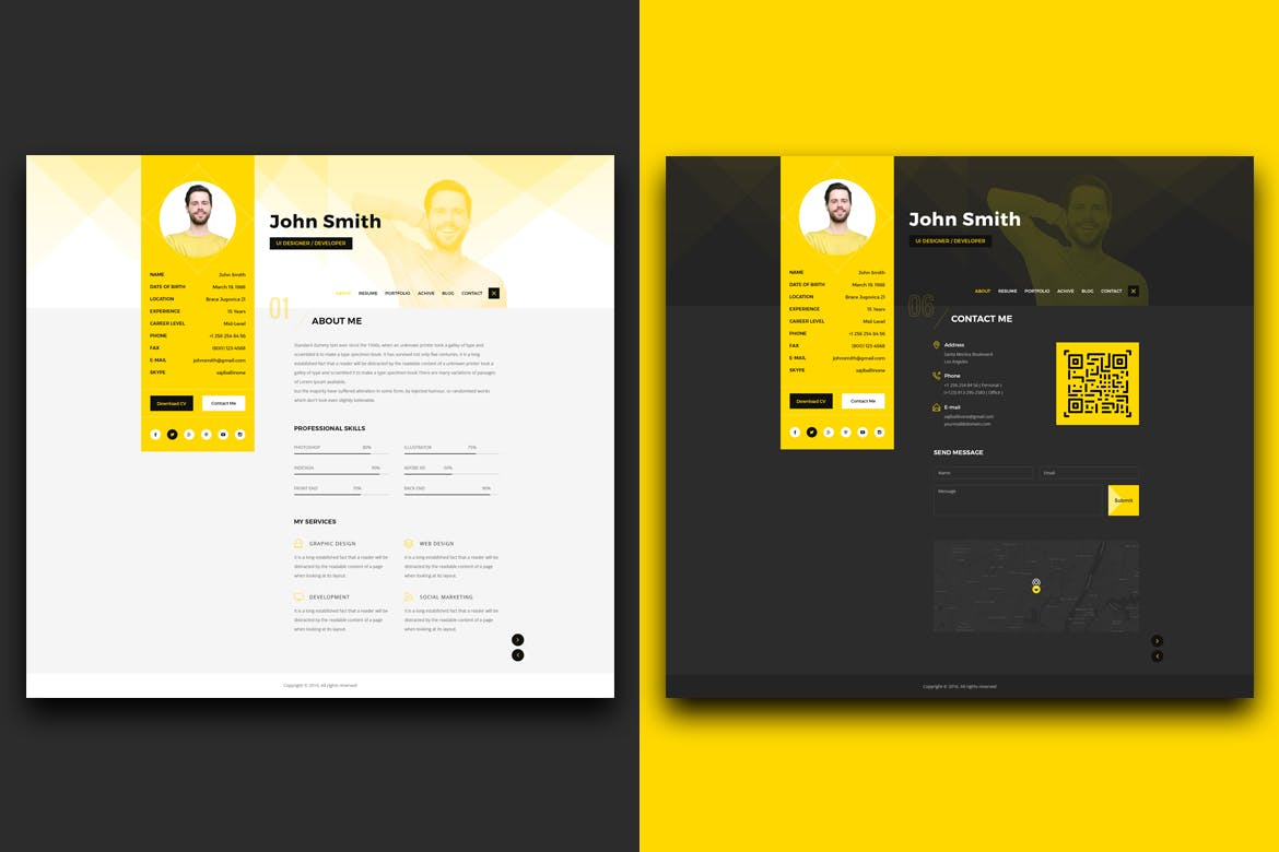 The Best CV & Resume Templates: 50 Examples 14
