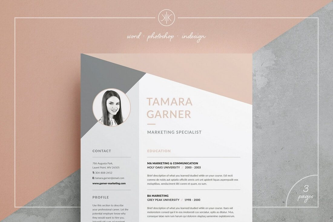 The Best CV & Resume Templates: 50 Examples 18