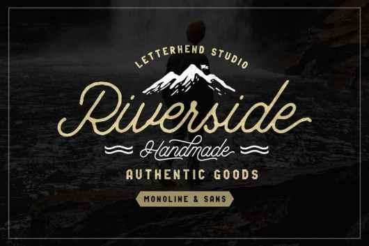 Riverside - Creative Font Duo