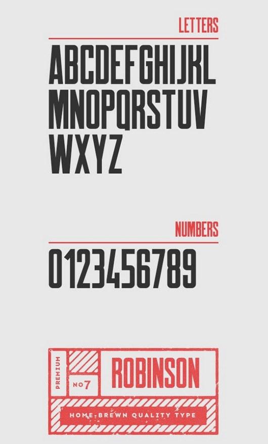 Robinson Typeface