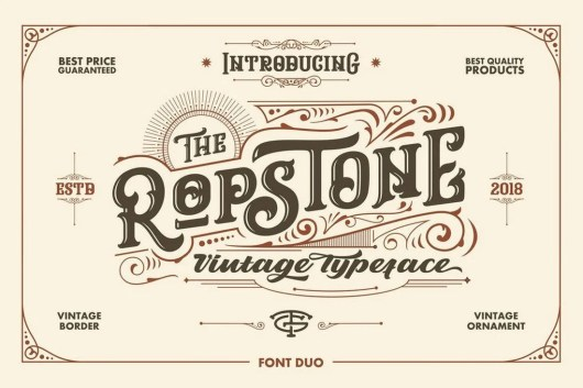 Ropstone - Slab Serif Font