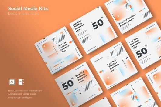 SRTP - Social Media Kit Templates