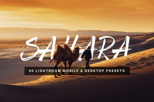 Sahara - 50 Outdoor Lightroom Presets