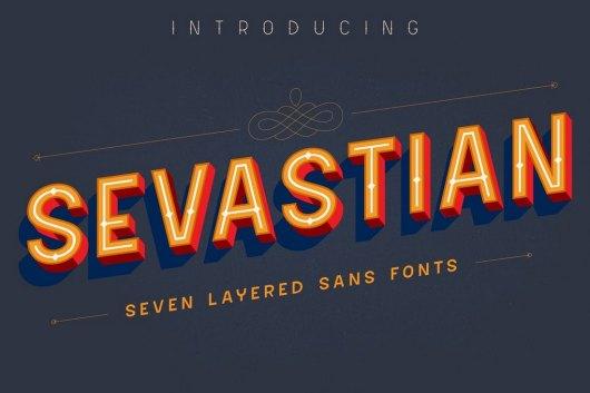 Sevastian Sans Serif Font