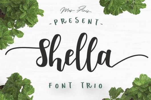 Shella Font Trio