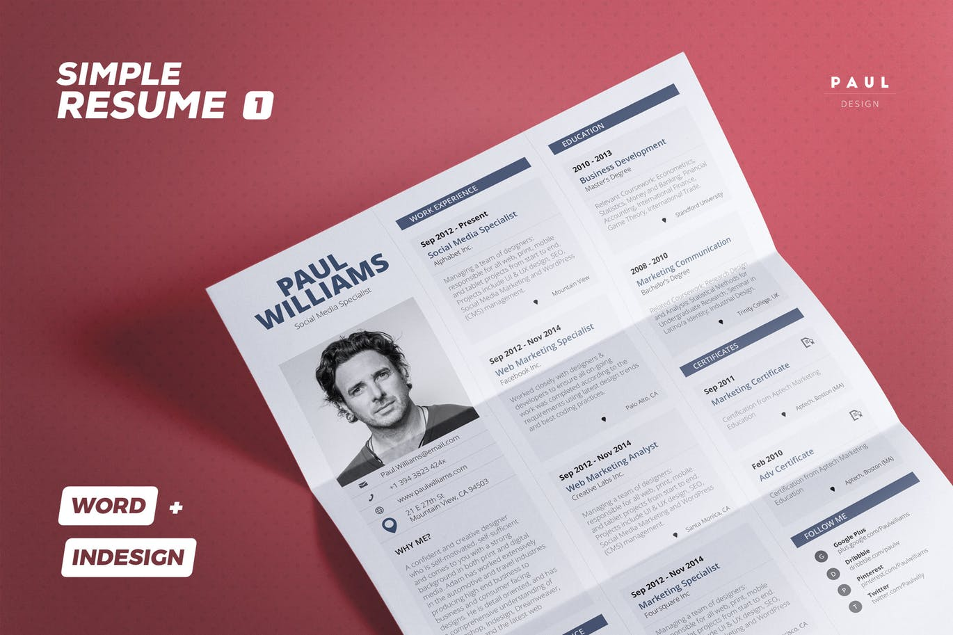 The Best CV & Resume Templates: 50 Examples 10