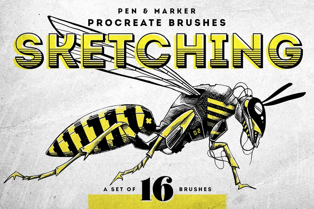 30+ Best Procreate Brushes 57