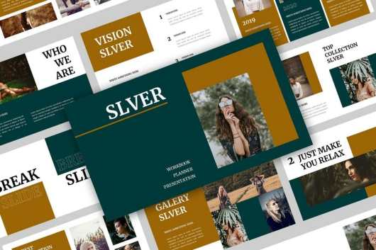 Slever - Elegant Powerpoint Presentation