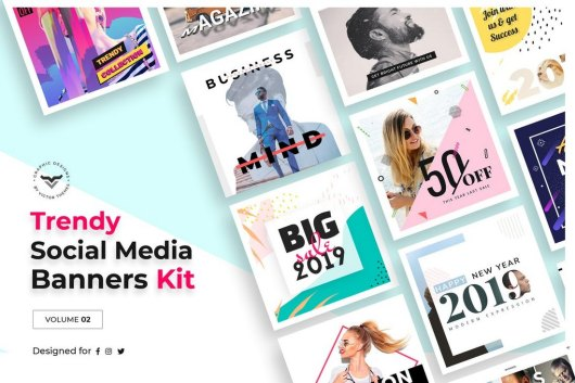 Social Media Templates Kit Volume II