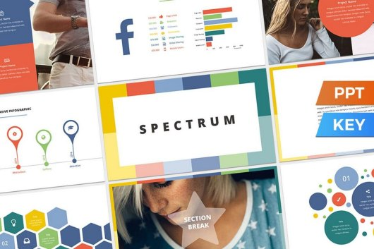 Spectrum - Colorful Presentation Template