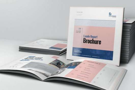 Square Annual Report Template