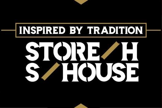 Storehouse - Stencil Font
