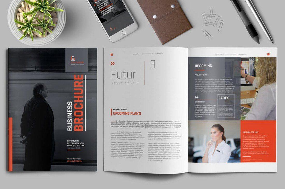 70+ Modern Corporate Brochure Templates 26