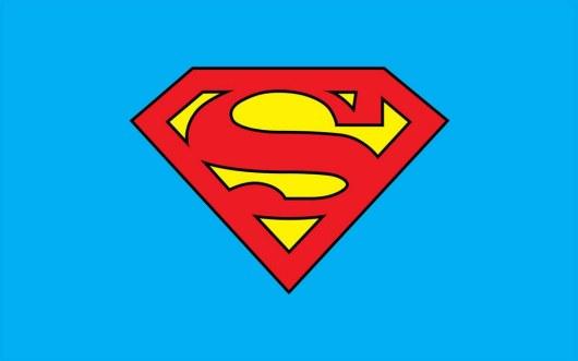 Superman Classic Logo Template