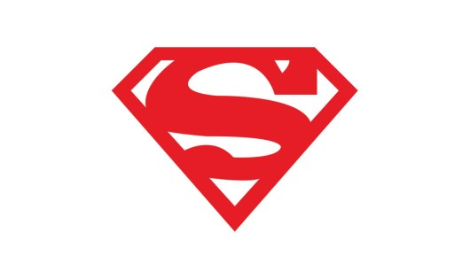 Superman Logo Template