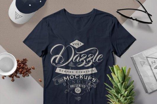 T-shirt Mockup Scenes Generators