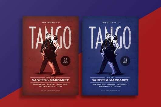 Tango Dance Flyer