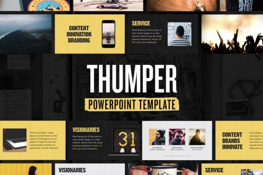 Thumper - Technology PowerPoint Template