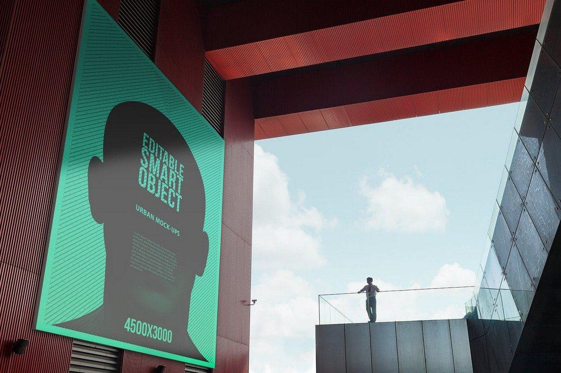 20+ Best Billboard Mockups 31