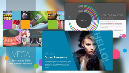 Vega - Animated PowerPoint Template Free