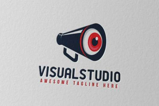 Visual Studio Logo Template