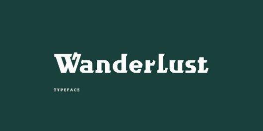 Wanderlust - Free Serif Font