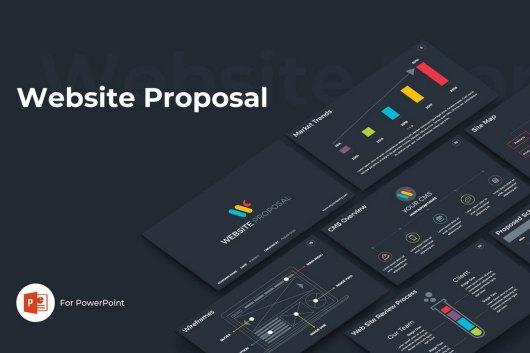 Website Proposal - Technology PowerPoint Template