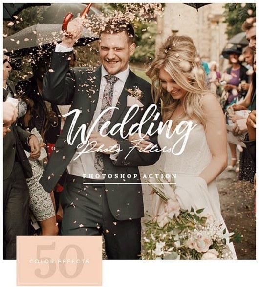 Wedding Photo Filters Photoshop Action